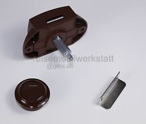 neu m belschlo push lock schlo 15 braun spezial. Black Bedroom Furniture Sets. Home Design Ideas