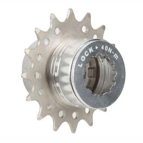 Single Speed Urban Fixie Bike rear gear Cassette Conversion Kit Silver 14T Mr C