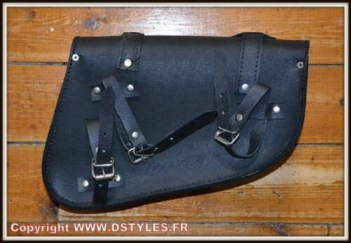 sacoche latérale Cuir Sportster ou autres custom NEUF Sacoche de Coté sporster