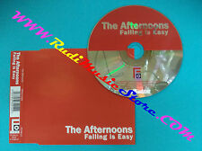 CD singolo The Afternoons Falling Is Easy FFVIN012 UK 2001 no mc lp vhs dvd(S29)