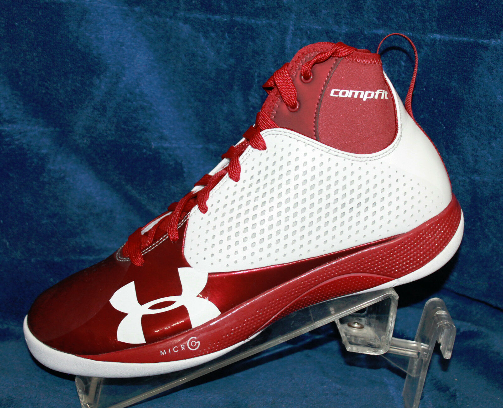 Uomo Under Armour TB Micro G Juke Basketball Shoes- 1231688-117