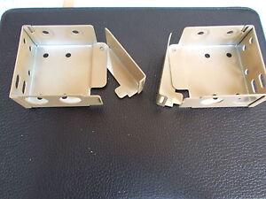 Bois-store-venitien-metal-supports-paire-de-coupe-50mm-x-58mm-haut-rail-tan-grand