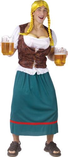 Beer Girl Male Adult Mens Costume Plus XL XXL Oktoberfest Funny Halloween
