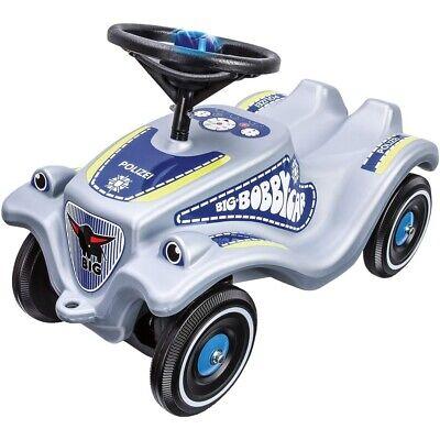 Bobby Car Hart Arbeitend Big Bobby Car Classic Polizei Blaulicht Original Kinderfahrzeug Rutscherauto Clear-Cut-Textur