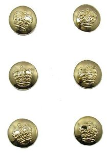 Button-Gold-St-Edward-Crown-14-mm-Sold-Pack-of-6-R1877
