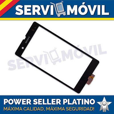 Pantalla Tactil Para Sony Xperia Z L36h Lt36i Negra Digitalizador Táctil Negro