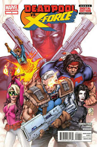 Marvel-Deadpool-vs-X-Force-Comic-Book-1-2014-Limited-Series-Swierczynski-NM