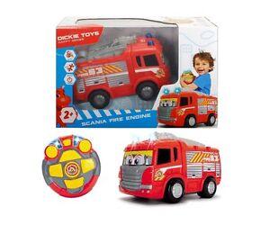Dickie-Toys-Happy-Scania-Feuerwehrauto-Ferngesteuertes-Spielzeugauto