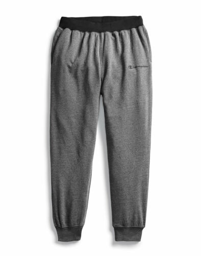 Champion Men/'s Joggers Sweatpants Heritage Heather Embroidered Logo Soft Wicking