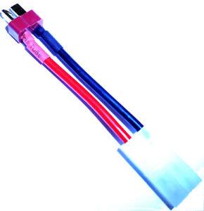 C8003A Compatible Hembra Tamiya a macho Cable de extensión de T-Plug Cable 14 AWG