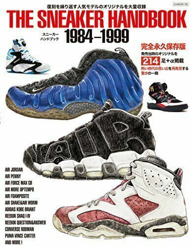 fbc9f33a2be The Sneaker Handbook 1984-1999 Japanese Book Collection Nike Air Jordan  Adidas for sale online