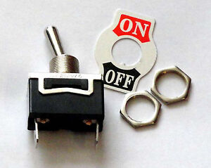SPST-Toggle-Switch-ON-OFF-15-AMP-125-VAC-Spade-Connectors-K101P