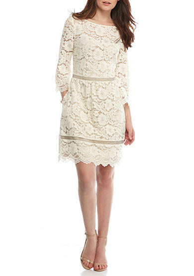 Vince Camuto Flare Sleeve Lace Dress for Woman SIze 2 4 8 10 NWT MSRP