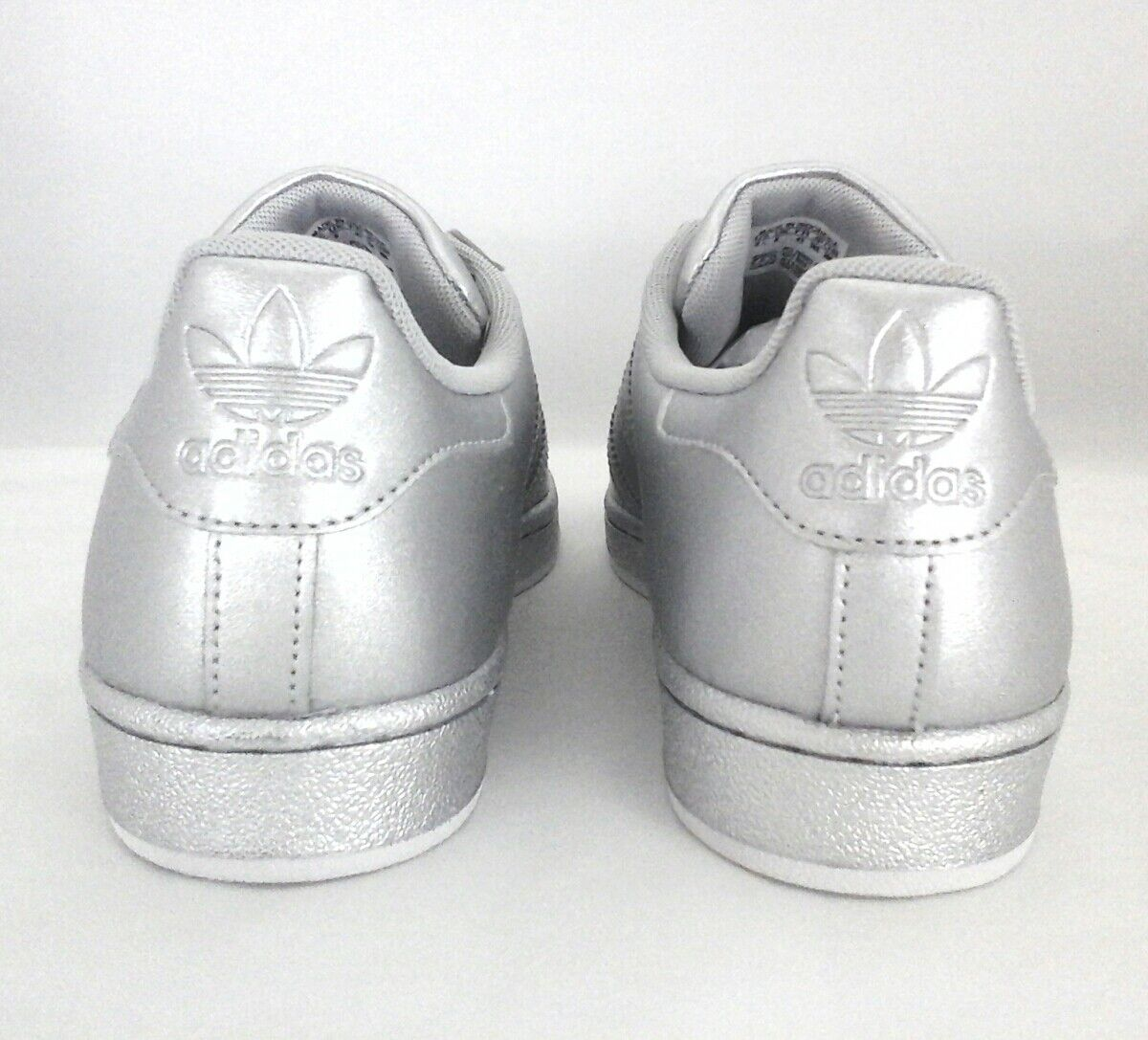 ADIDAS ORIGINALS SUPERSTAR Clamshell Metallic RARE Schuhes Damenschuhe SILVER Metallic Clamshell BB8139 6db78c