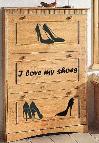 Sticker Shoe Cabinet Sticker Shoes Womens Shoes