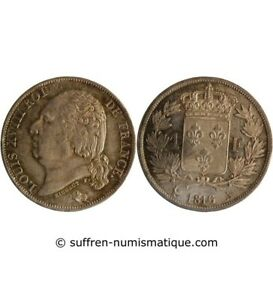 1-FRANC-LOUIS-XVIII-1816-A-PARIS