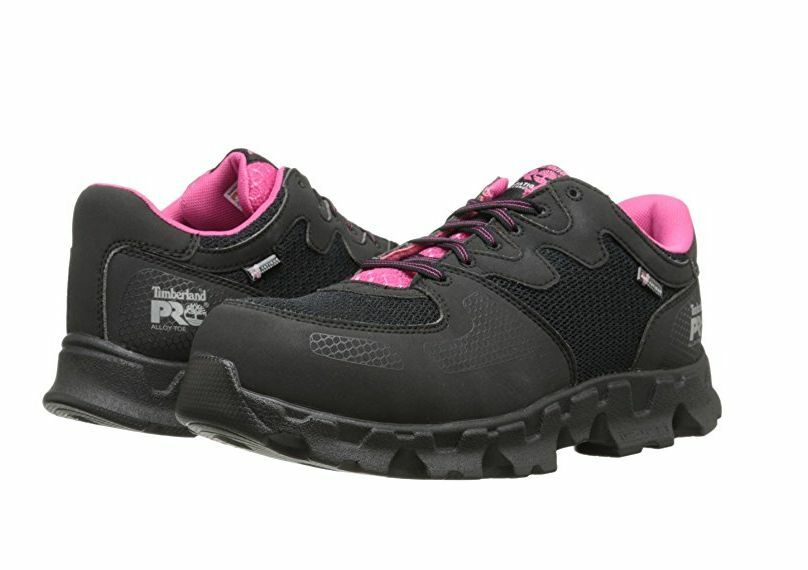 Timberland-PRO-Powertrain Women's Alloy Safety Toe ESD SD Work Shoes TB092669