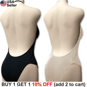 bf628a01d6 Image is loading Backless-Full-Body-Shaper-Bikini-Convertible-Seamless-Low-