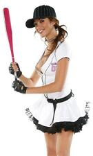New Sexy Fantasy League Baseball Halloween Costume *S/M