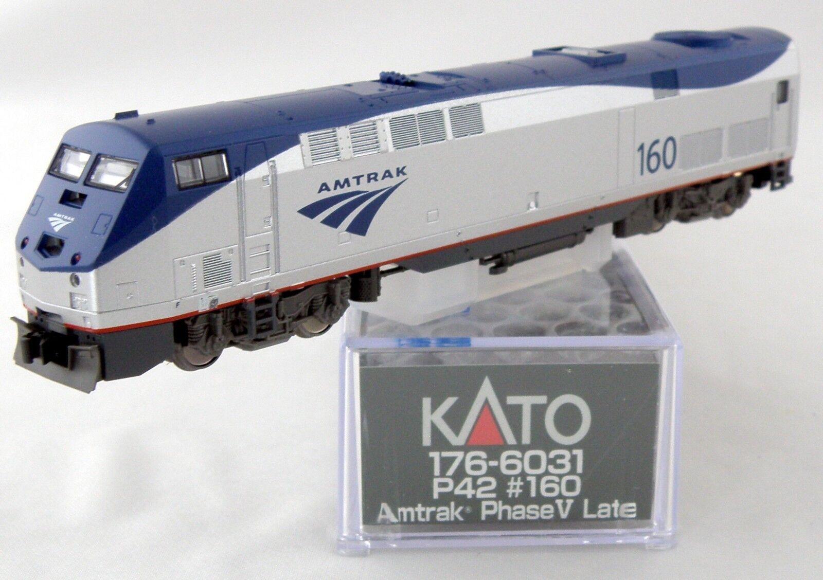 Escala N Locomotora Ge P42  Genesis  - Amtrak Fase V a finales de  160 - Kato  176-6031
