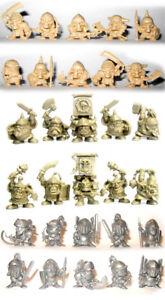 Details about Chibi Knights, Undead, Goblins, Dwarfs, 30 plastic  miniatures, 28 mm, Tehnolog