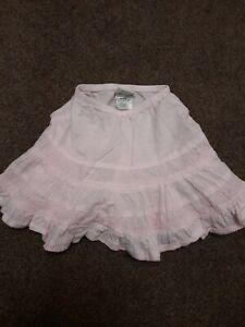 NEXT Baby Girls Pretty Pink Skirt - 9-12 Months Excellent Condition