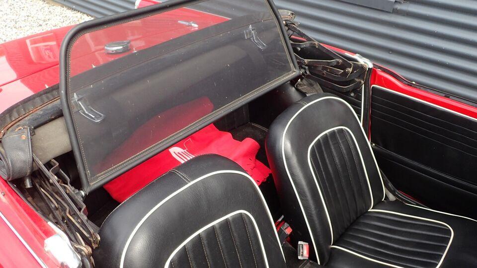 Triumph TR4A 2,1 Cabrio Benzin modelår 1967 km 99000