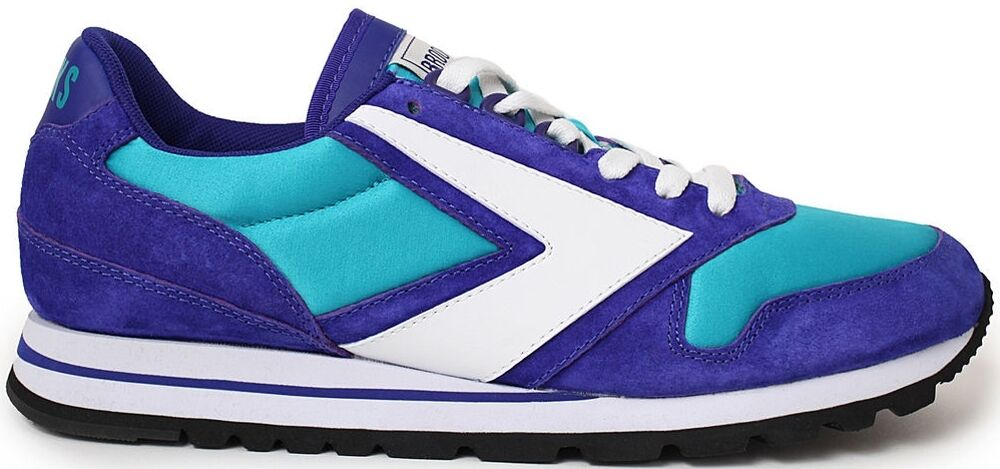 Brooks Chariot shoes (10) Turquoise Purple White