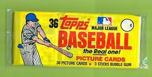 1983-Topps-Baseball-Grocery-Pack-3-small-cellos-sealed-From-Last-Case-From-Topps