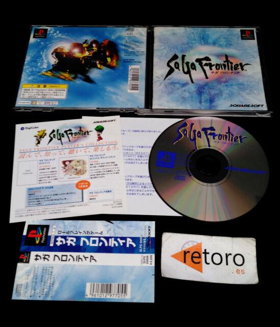 SAGA FRONTIER SA GA sony playstation PSX Play Station PS1 JAP