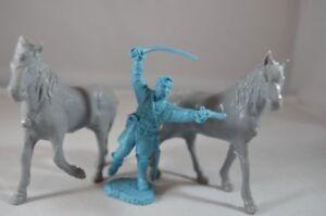 MPC-Farm-Horses-Animals-Civil-War-Gray-Toy-Soldiers