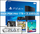 PS4 PRO 1TB Playstation 4 PRO - Incluye FIFA 17 + The Last of Us + No Man's Sky