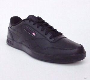 c9166e51126c Reebok Classic Club Memt Memory Tech Foam All Black Grey Mens Shoes ...