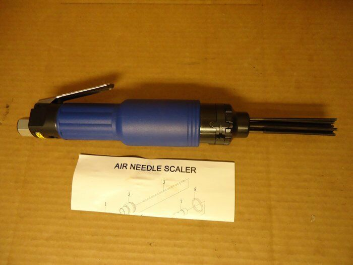 Pneumatic Straight Needle Needle Needle Scaler Paint Removal Tool JI-20 ad0d31