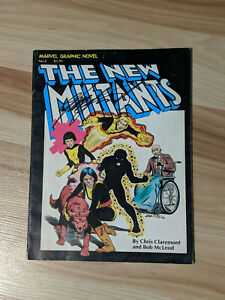 Marvel Graphic Novel #4 SIGNED by Chris Claremont 1st New Mutants Canadian Price