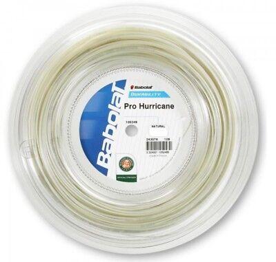 (0,40 €/m) Babolat Pro Hurricane 200 M Corde Tennis- Alta Sicurezza