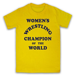 d5686531 WOMEN'S WRESTLING CHAMPION OF THE WORLD ANDY KAUFMAN MENS LADIES T ...