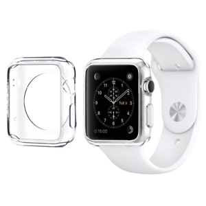Silicone-Apple-Watch-Cover-TPU-Case-Screen-Guard-For-Smart-Watch-38mm-42mm-UK