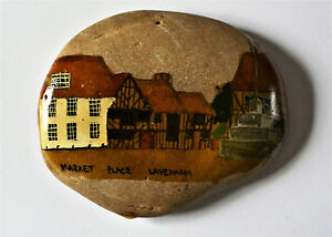 Beautifully Hand Painted Village Scene on a Stone Market Place Lavenham Suffolk - Nottingham, United Kingdom - Beautifully Hand Painted Village Scene on a Stone Market Place Lavenham Suffolk - Nottingham, United Kingdom