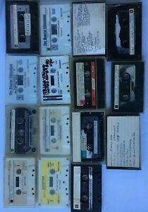 Vintage-11-Cassette-Tapes-USED-Arts-amp-Crafts-Very-Random-and-Prerecorded-Mixed