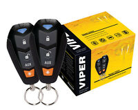 Viper 3105v Car Security System Alarm Keyless Entry Two 4-button Remotes