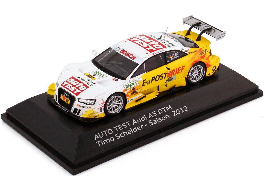 1 1 1 43 AUDI A5 DTM 2012 auto test, E-Postbrief nr.4 Timo Scheider - Dealer 0d6e81