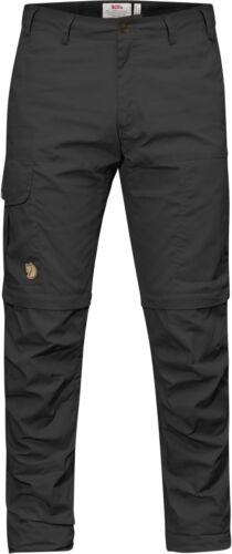 Dark Grey Fjäll Räven Karl par zip-off Trouser g-1000 Pantalon court Trekkinghose