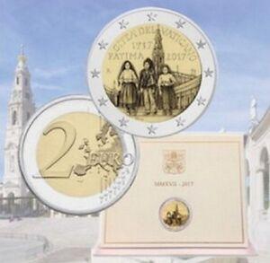 Piece-2-euros-commemorative-VATICAN-2017-Anniversaire-de-l-039-Apparition-de-Fatima