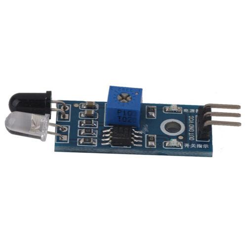 Hindernisvermeidung Sensor Modul Infrarot Reflexions Lichtschranke N8N3 6X I2