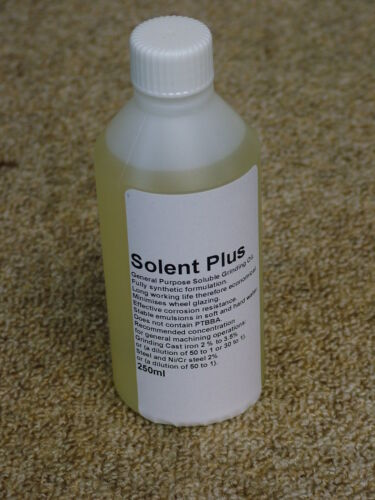Premium Grinding Coolant. Jones & Shipman 540, Tool & Cutter. Soluble.