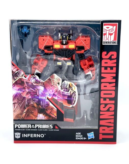 Transformers Generation Power Of The Primes - Inferno Voyager Class Autobot 8+