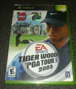 TIGER-WOODS-PGA-TOUR-2003-XBOX-COMPLETE-WITH-MANUAL-FREE-S-H-TT