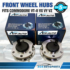 SET OF 2 FRONT WHEEL BEARING & HUB HUBS FOR HOLDEN COMMODORE VT-II VX VY VZ ABS