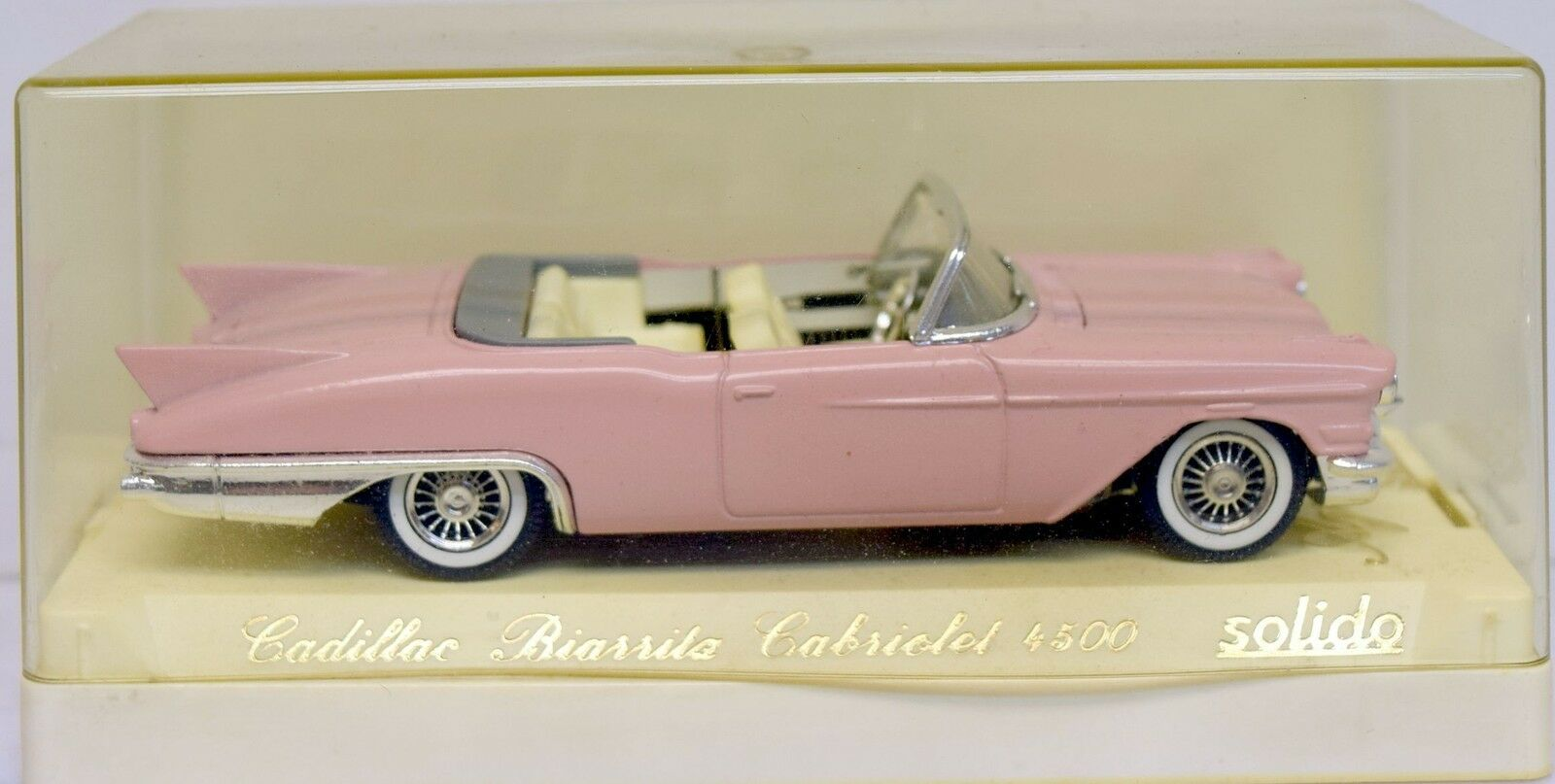 Solido 1 43 4500 Cadillac Biarita Cabriolet, pink, Die Cast